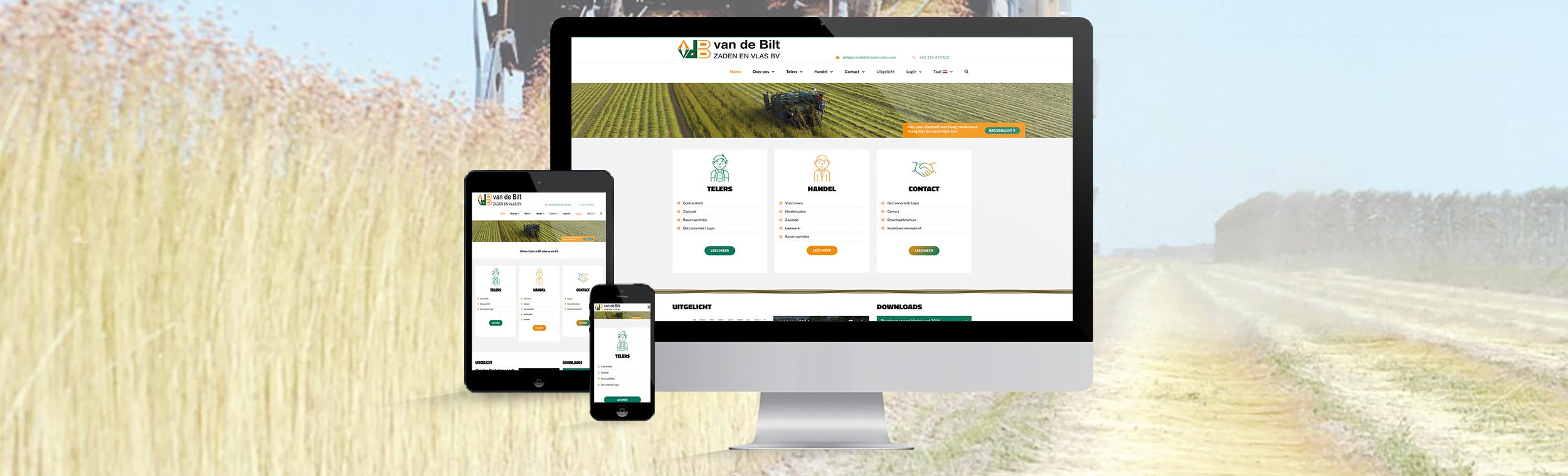 portfolio-van-de-bilt-website