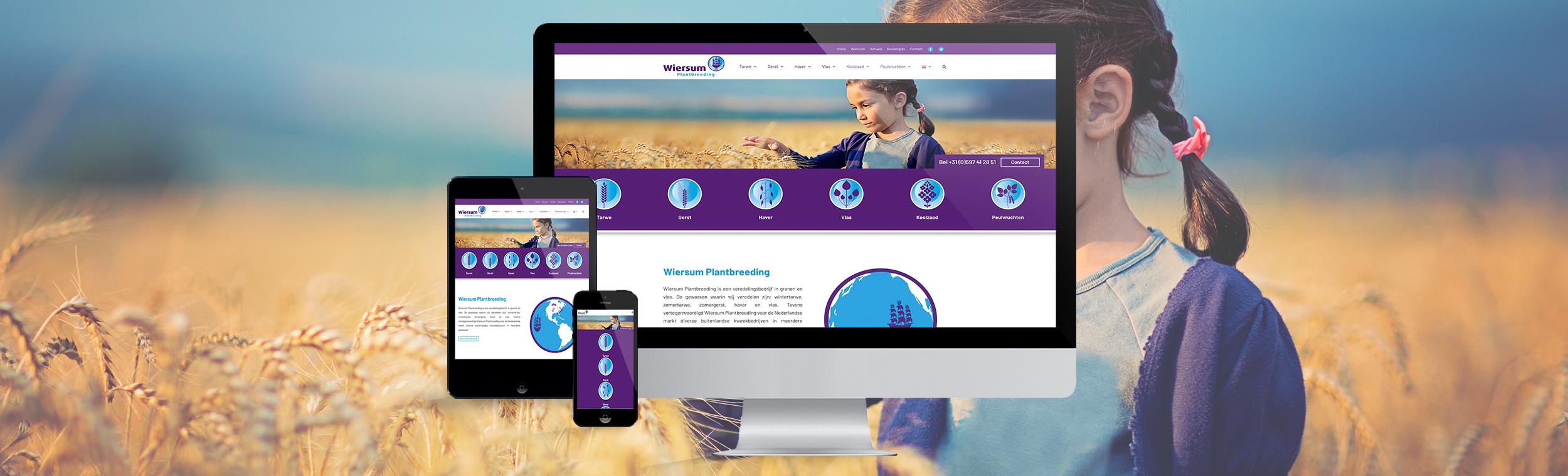 portfolio-wiersum-plantbreeding-website