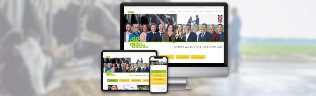 BoerBurgerBeweging - Website