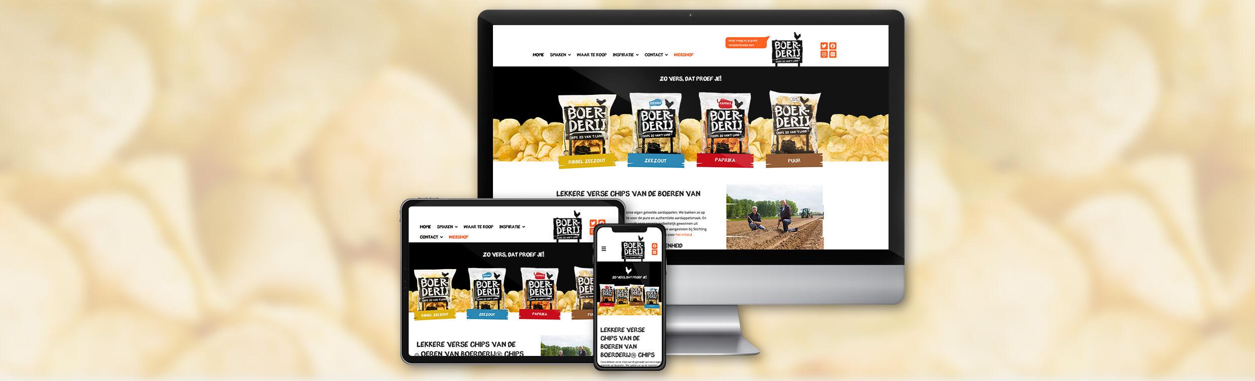 Boerderij Chips - Website
