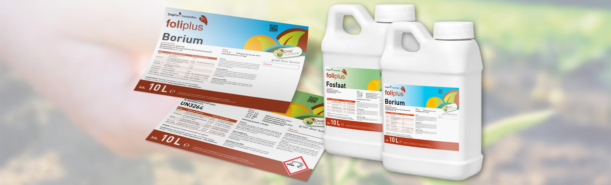 CropSolutions - Etiketten