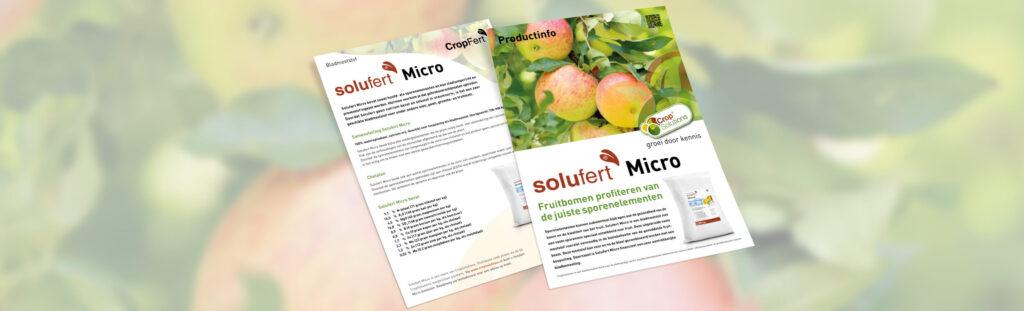 CropSolutions - Solufert Micro - Flyer