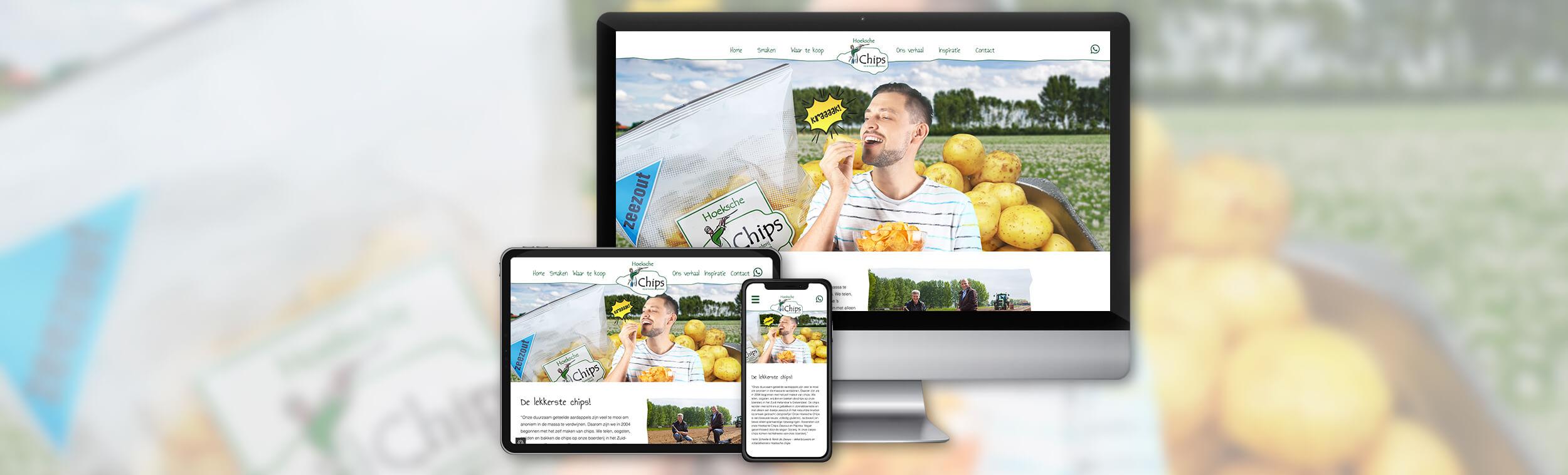 Hoeksche Chips - Website