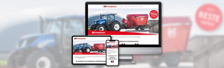 Kongskilde | Voermengwagens - Website