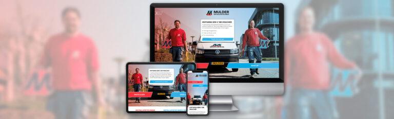 Mulder Installatietechniek - Website