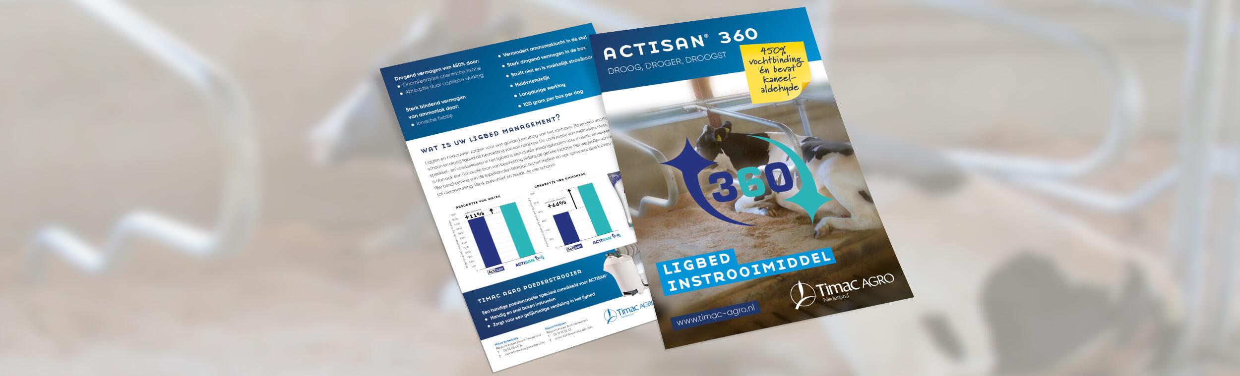 Timac Agro | Actisan 360 - Flyer