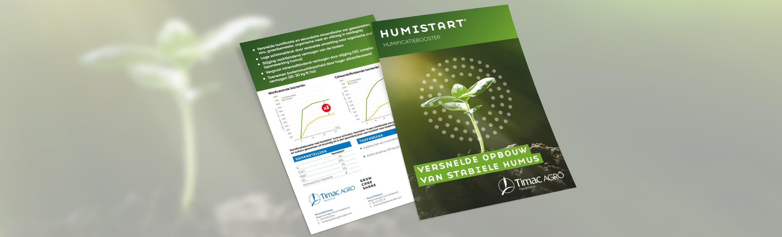 Timac Agro | Humistart - Flyer